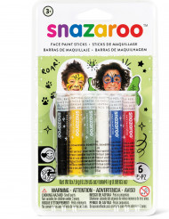 6 Sticks maquillage mixte Snazaroo™