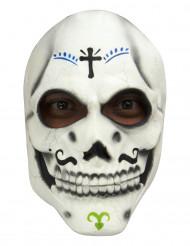 Masque Squelette Dia de los muertos adulte
