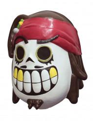 Masque pirate dia de los muertos adulte