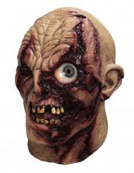 Masque intégral animé Zombie oeil frénétique - adulte
