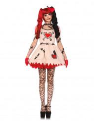 Déguisement poupée vaudou femme Halloween