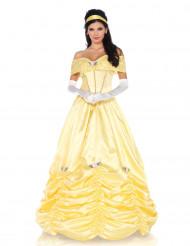 Déguisement princesse féérique jaune femme