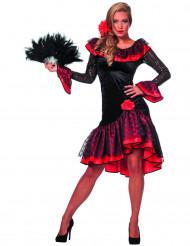 Déguisement danseuse espagnole noire femme