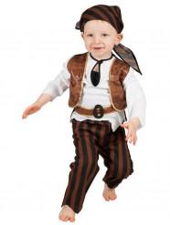 Déguisement pirate marron bébé