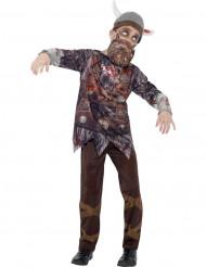 Déguisement zombie viking enfant Halloween