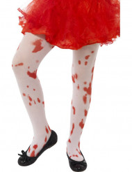 Collants ensanglantés enfant Halloween