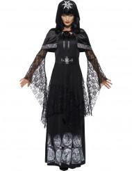 Déguisement maitresse de magie noire adulte Halloween