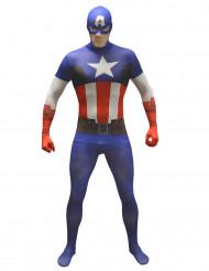 Déguisement classique Captain America™ adulte Morphsuits™