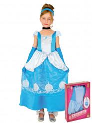 Déguisement conte de fées bleue en coffret fille