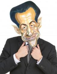 Masque en carton Nicolas Sarkozy adulte