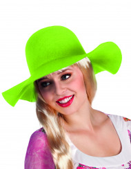 Chapeau estival  vert clair femme