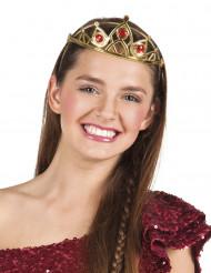 Petite couronne dorée princesse adulte