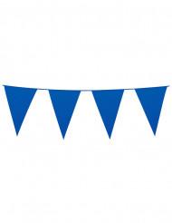 Guirlande à fanions bleus 10m