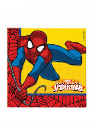20 Serviettes en papier Ultimate Spiderman Power ™
