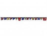 Guirlande Happy Birthday Ultimate Spiderman Power™