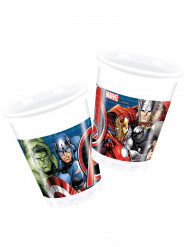 8 Gobelets en plastique Avengers Power™ 200 ml