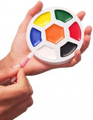 Palette maquillage 7 couleurs ballon de foot