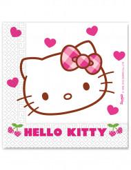 20 Serviettes en papier Hello Kitty ™