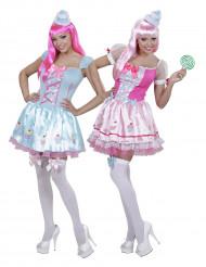 Déguisement de couple cupcake femme