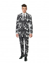 Costume Mr. Icons noir imprimé homme Suitmeister™ Halloween