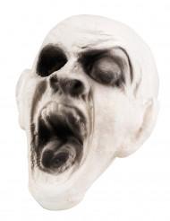 Décoration tête de zombie 15 x 15 cm Halloween