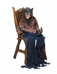 Décoration à suspendre loup garou 150 cm Halloween