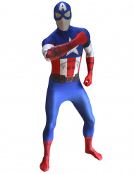 Déguisement Morphsuits™ Captain America Digital adulte