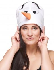 Bonnet bonhomme de neige adulte