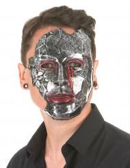 Masque homme métallique adulte
