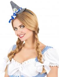 Serre-tête mini chapeau Bavarois adulte