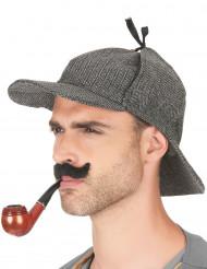 Chapeau détective anglais adulte