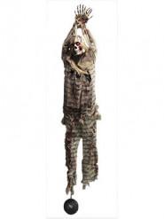 Décoration à suspendre lumineuse prisonnier 210 cm Halloween