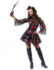 Déguisement pirate femme Dia de los muertos