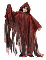Cape rouge et noire enfant Halloween