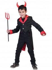 Déguisement vampire queue de pie garçon Halloween