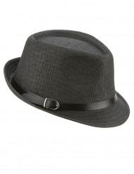 Chapeau borsalino gris avec boucle adulte