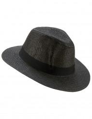 Chapeau Panama gris adulte