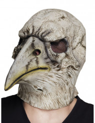 Masque latex tête aigle adulte