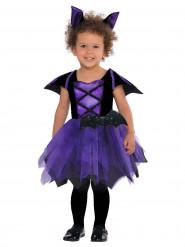 Déguisement chauve souris violette bébé Halloween
