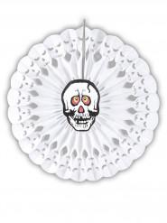 Rosace tête de squelette 50 cm Halloween