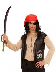 Chemise pirate avec accessoires adulte