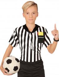 T-shirt arbitre de foot enfant