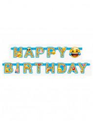 Guirlande articulée Happy Birthday Emoji™