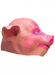 Masque cochon latex adulte