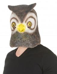 Masque hibou latex adulte
