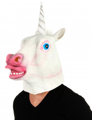Masque licorne latex adulte