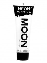 Gel cheveux blanc fluo UV 20 ml Moonglow ©