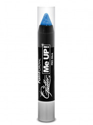 Crayon maquillage pailleté bleu UV 3 g