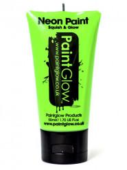 Gel visage et corps vert fluo UV 50 ml