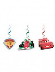 3 Décorations à suspendre Cars Ice™ 70 cm